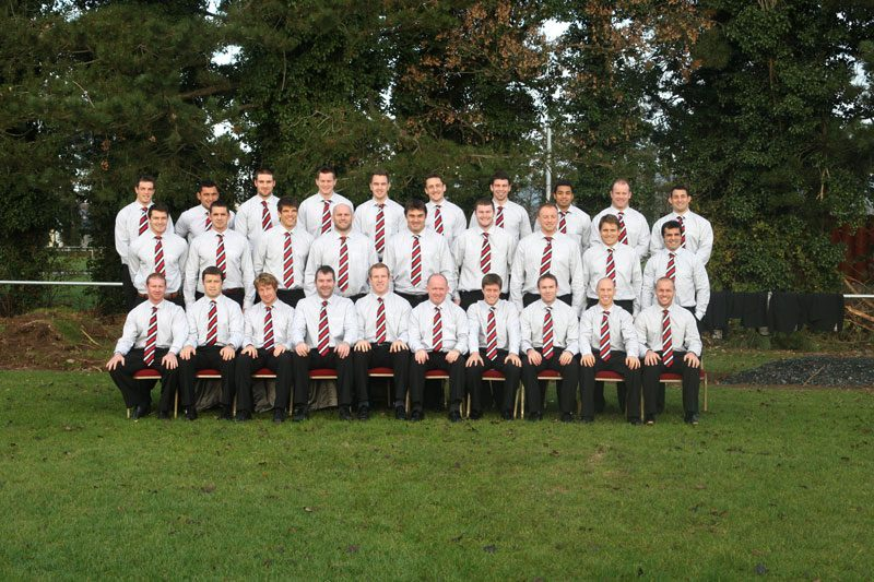 Munster-Rugby-Squad-2007,-Dressed-By-Con-Murphy-Menswear