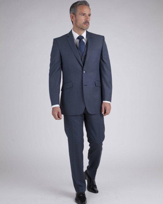 Blue Grey Rental Suit